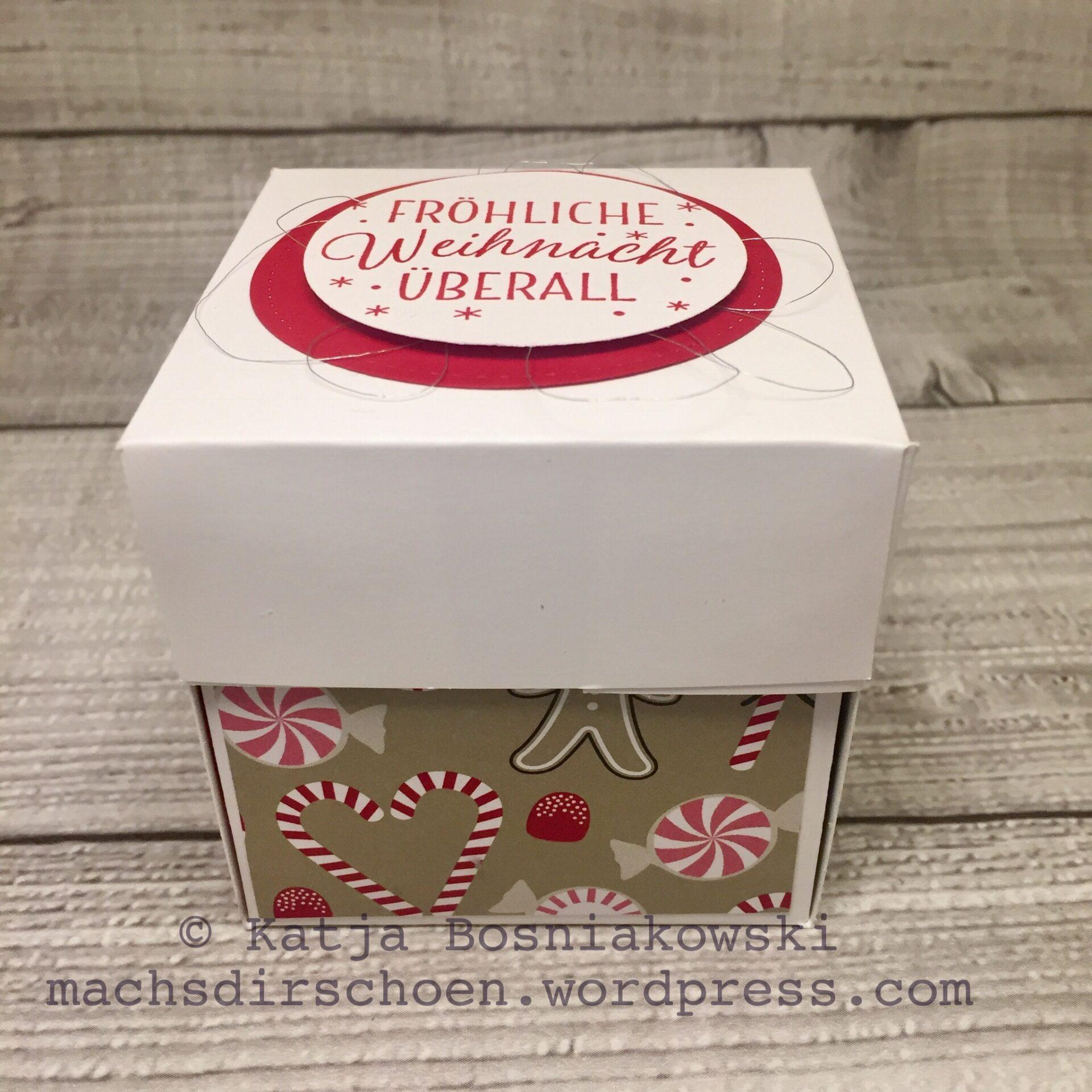 15 Minuten Weihnachten Anleitung.15 Minuten Weihnachten In Der Explosionsbox Mit Vielen Downloads